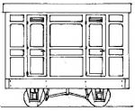 Parkside Dundas DM75  Freelance Panelled 4-Wheel 3rd Class 2